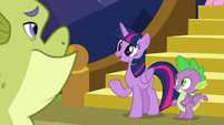 Twilight -good to see you feeling better- S8E24