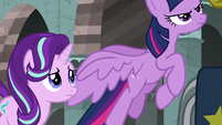 Twilight Sparkle taking flight S7E26