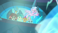 Young Six see Starlight trapped in magic orb S8E26
