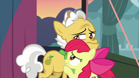 Apple Bloom hugging Grand Pear S7E13