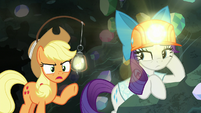"Applejack ""been followin' you closely"" S9E19"