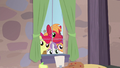 Big Mac and CMCs outside Sugar Belle's window S7E8.png