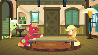 Big McIntosh continues berating Applejack S6E23