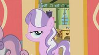 Diamond Tiara Walks Out of the Classroom with a Smirk on Her Face S02E12