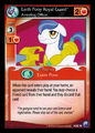 Earth Pony Royal Guard, Arresting Officer card MLP CCG.jpg