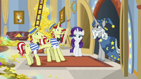 Flim nervously greeting Star Swirl S8E16