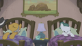 Igneous Rock Pie and Cloudy Quartz sleeping S5E20.png