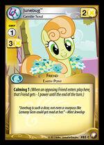 Junebug, Gentle Soul card MLP CCG