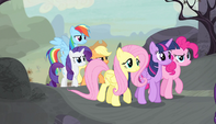 Mane Six following Starlight S5E01