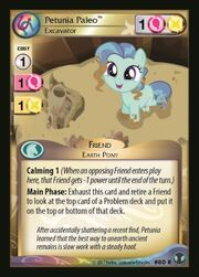 Petunia Paleo, Excavator card MLP CCG