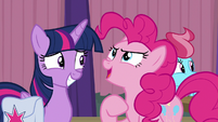 "Pinkie Pie ""I'll do everything I can"" S9E16"