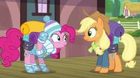 Pinkie Pie --I brought yeti food!-- S6E17