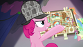 Pinkie Pie pointing at her theory board S7E23.png