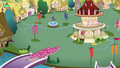 Pinkies swarming Ponyville S3E3.png