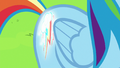 Rainbow Dash's cutie mark glowing again S6E24.png