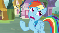"Rainbow Dash ""what's the big deal?"" S8E18"