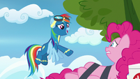 "Rainbow Dash ""you just get better!"" S7E23"