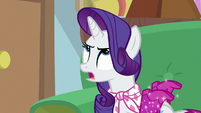 "Rarity ""just because I needed Twilight"" S8E17"