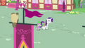 Rarity and Spike walking through Ponyville S4E23.png