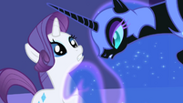 S01E01 Rarity i Nightmare Moon