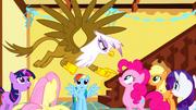 S01E05 Gilda obwinia Pinkie Pie