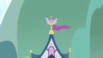 School of Friendship flag waving S8E1