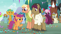 """Scootaloo """"will you still come and visit?"""" S9E12"""