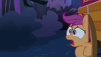Scootaloo breathing heavily S3E06