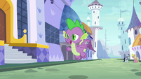 "Spike ""the library is that way!"" S9E5"