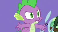Spike -I'm a dragon!- S5E5