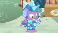 Spike in crystal armor S4E23