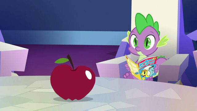 File:Spike looking at the apple S7E2.png