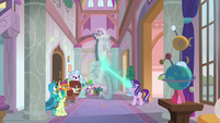 Starlight un-banishing Discord from the school S8E15
