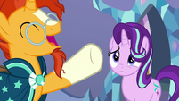 "Sunburst ""than any pony in Equestria!"" S7E24"
