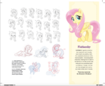 The Art of MLP The Movie page 15 - Fluttershy concept art