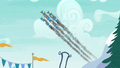The Wonderbolts streak through the sky S6E7.png