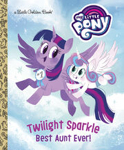 Twilight Sparkle Best Aunt Ever LGB cover