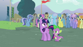 Twilight and Spike arrives S3E05.png