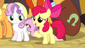 Apple Bloom defending Trouble Shoes S5E6.png
