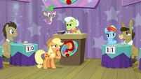 "Applejack ""what was the question again?"" S9E16"