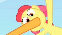 Applejack silencing Apple Bloom S02E15
