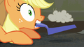 Applejack startled by the music S6E9.png