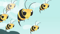 Bees angry S4E16