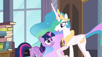 Celestia 'No need to apologize' S4E01