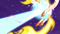 Daybreaker gets hit by Nightmare Moon's magic S7E10.png