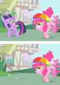 FANMADE Disappearing Twilight and Spike S1E15