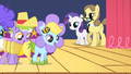 Fillies dancing in simple costumes S1E23.png