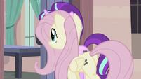 Fluttershy enters Starlight's house S5E02