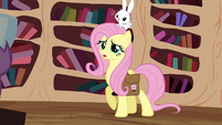 Fluttershy talking while feeling worried S3E11