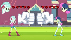 Lyra Heartstrings vs Sweetie Drops EG3
